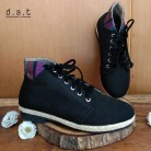Bima Boots Canvas Black