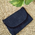 Mali Clutch Denim Navy