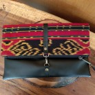 Simply Clutch Jepara Tribal Red