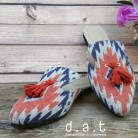 Astari Tassel Navy Red 1